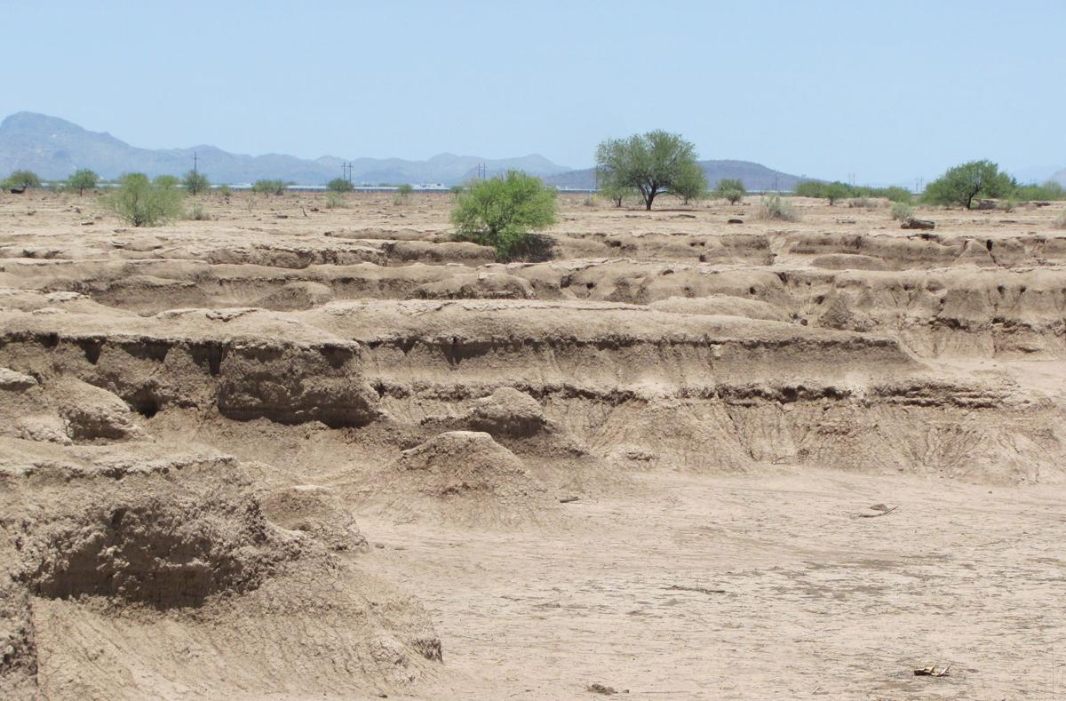 Erosion at work
