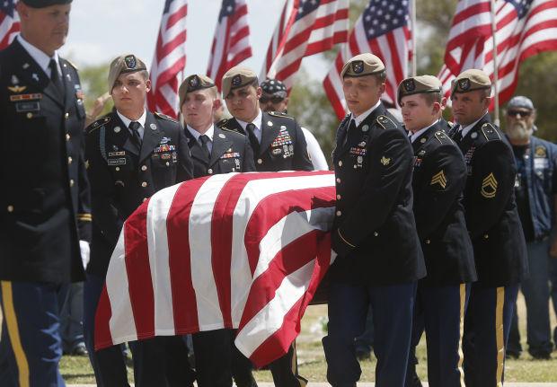 Funeral for Command Sgt. Maj. Martin R. Barreras