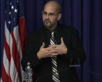 Sociologist Joshua Hendrick