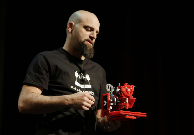From sci-fi fantasy to reality: 3-D printers explode onto the scene