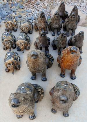 lawn art rock animals 2.JPG