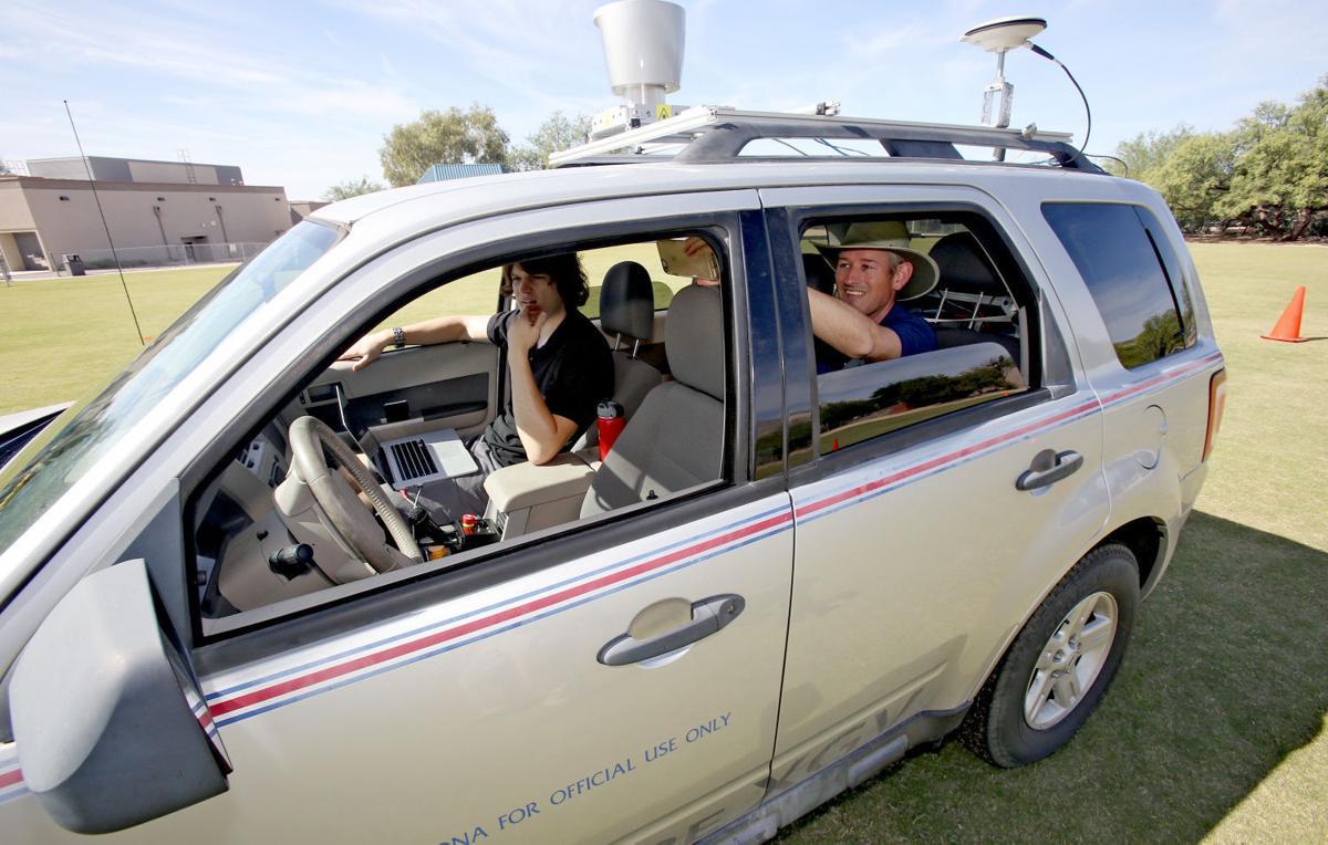 Driverless vehicle