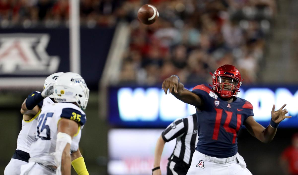 Arizona Wildcats vs. NAU Lumberjacks football