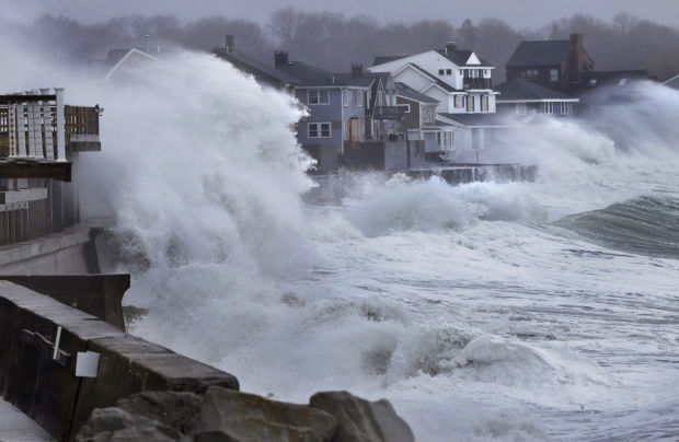 Storm with 5 ugly faces hits New England
