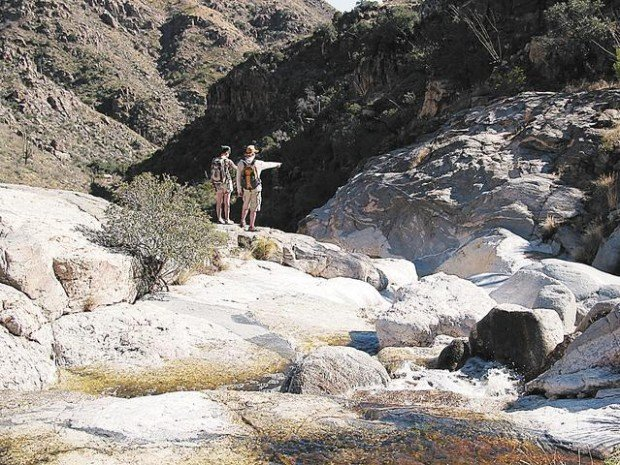 Ventana Canyon Trail: Perfect time to enjoy the Maiden Pools