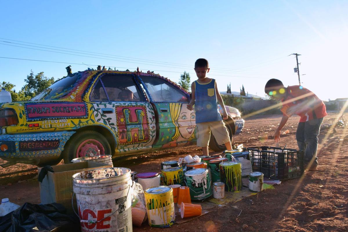 Women art activists and the U.S.-Mexico border