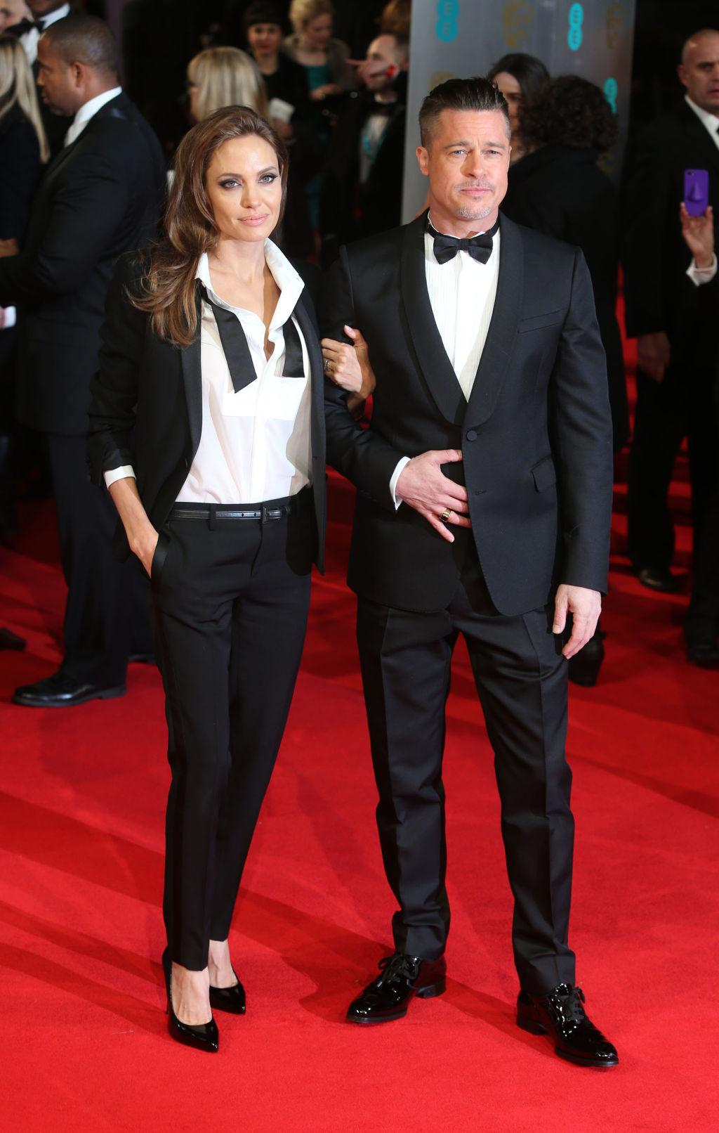 Gero Golden Boys photos: jolie, pitt wed privately at french chateau | latest