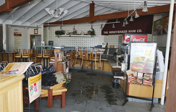 Early-morning electrical fire damages HoneyBaked Ham
