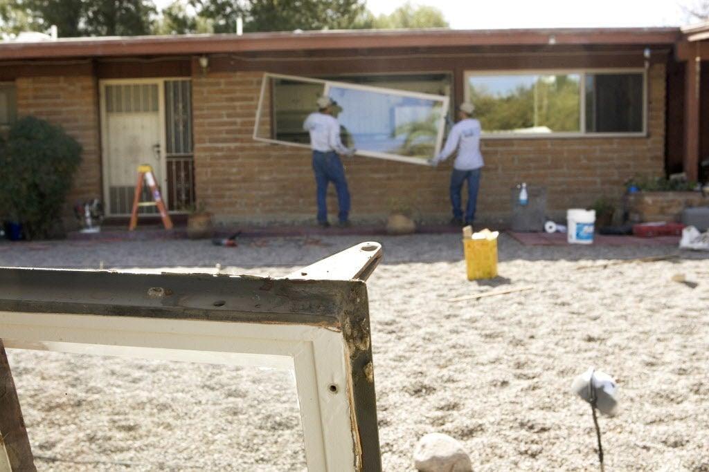 Replacing windows on stucco home tucson replacing windows solutioingenieria Gallery