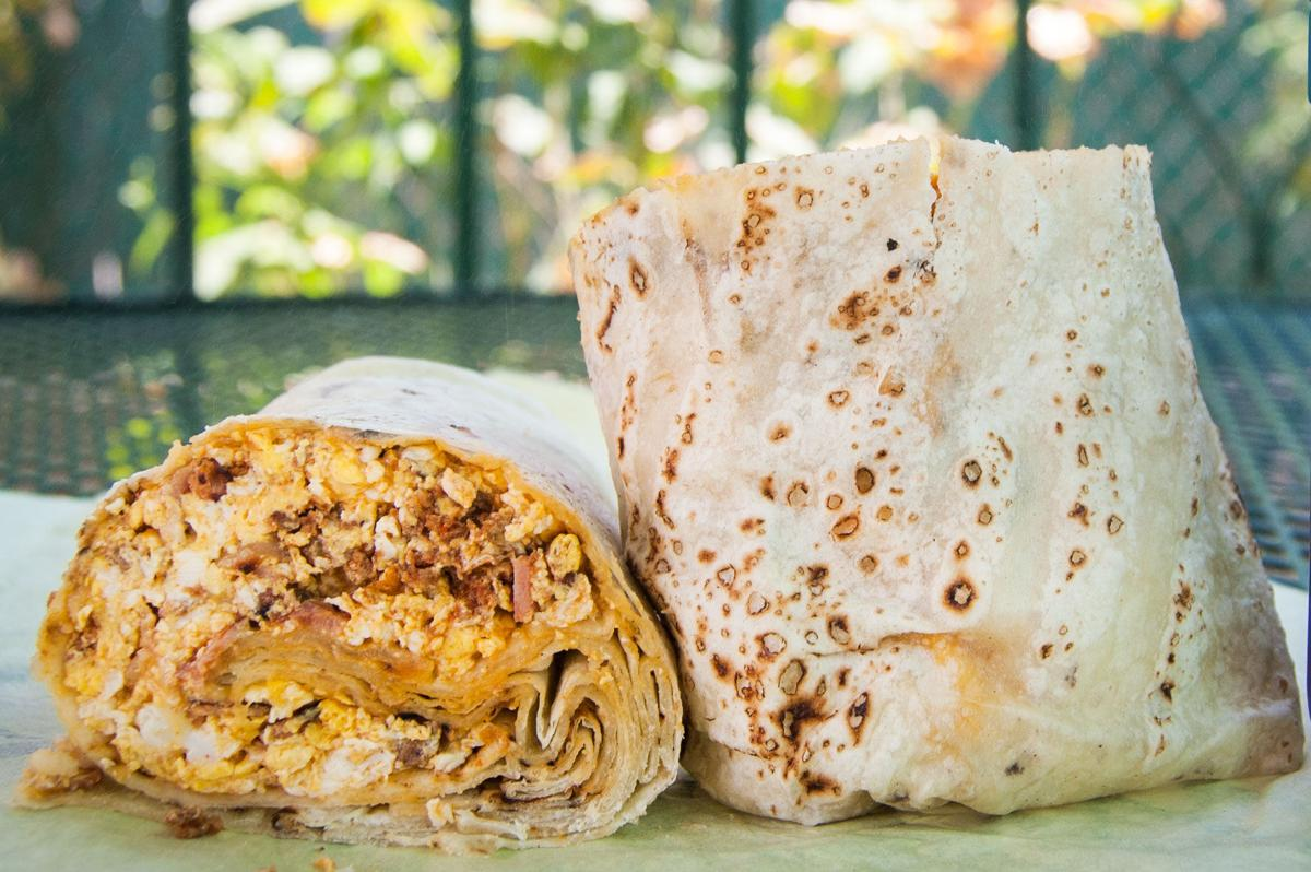 Anita Street Market breakfast burrito