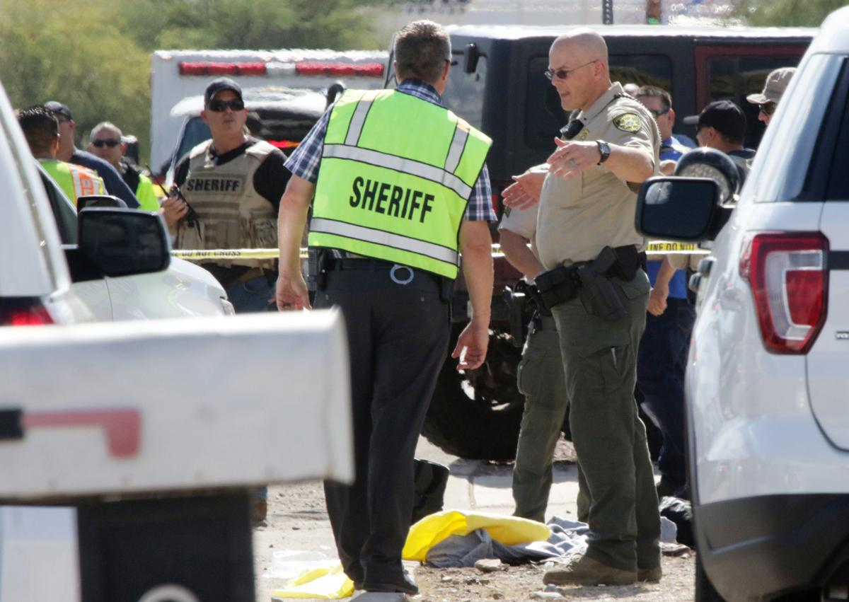 Pima County Sheriff's deputies