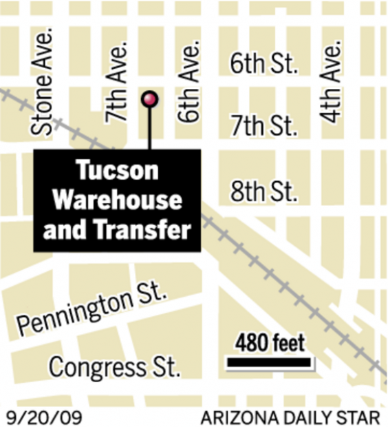 Bonnie Henry: Old warehouse survives