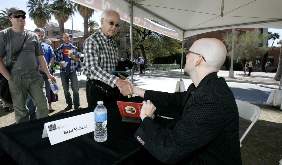 Brad Meltzer at 2012 Tucson Festival of Books