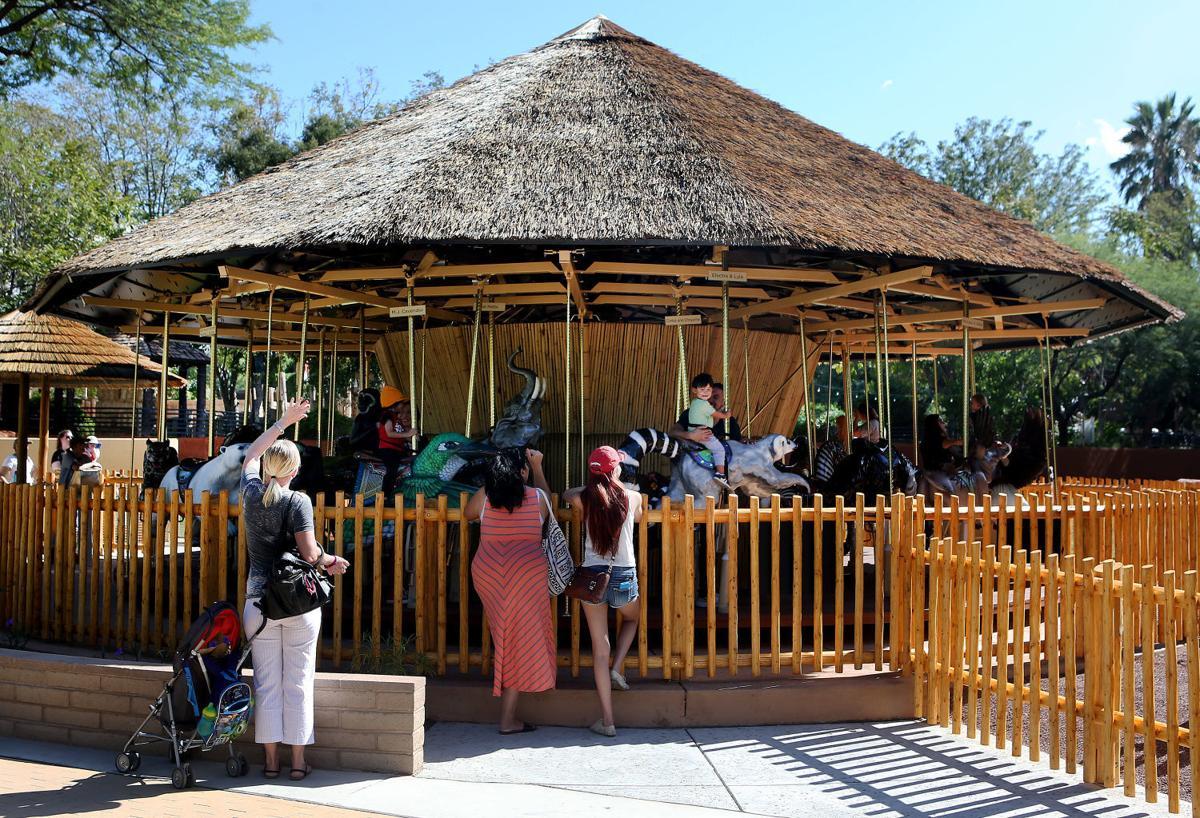 Reid Park Zoo carousel