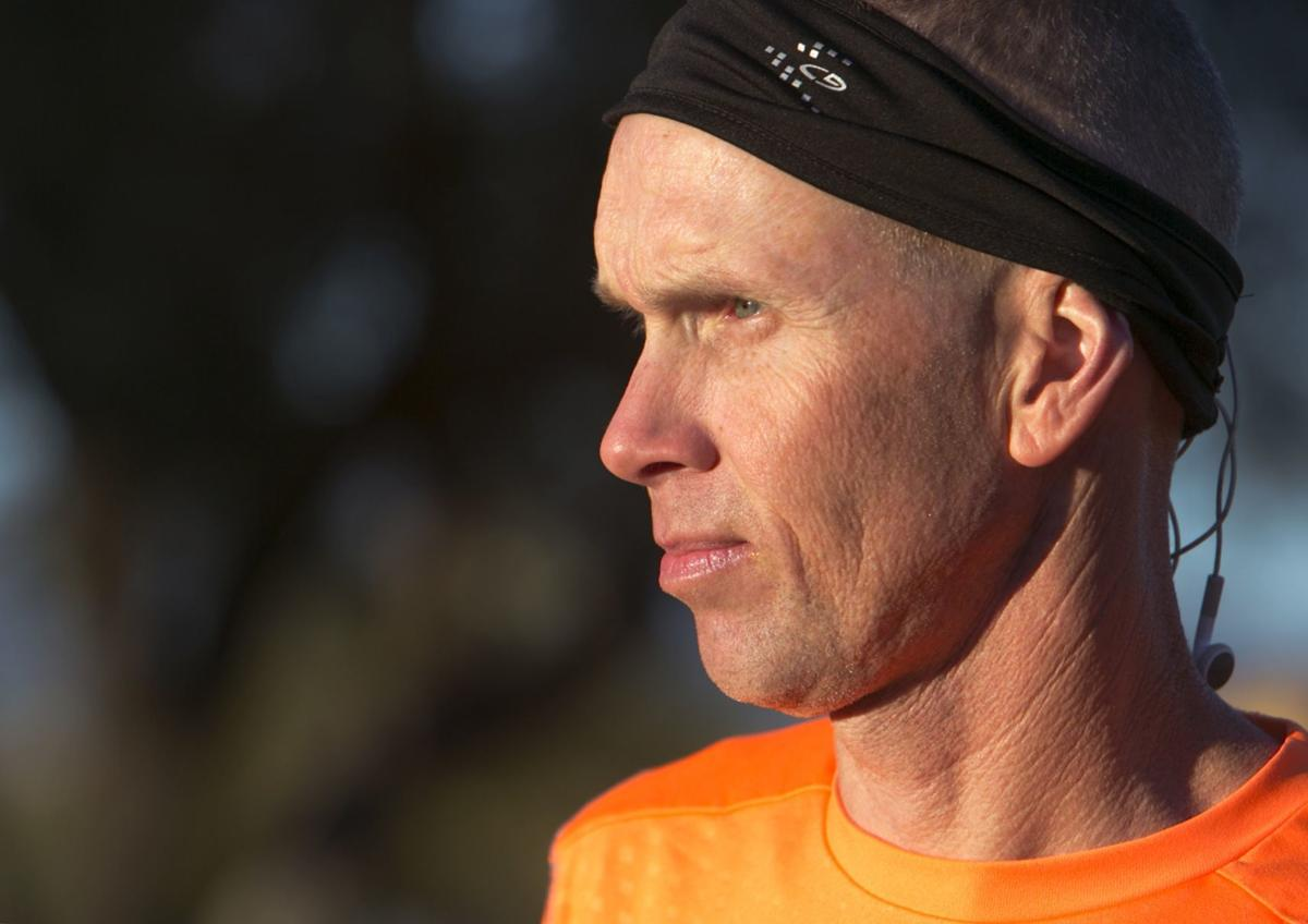 Distance runner Dan Heston