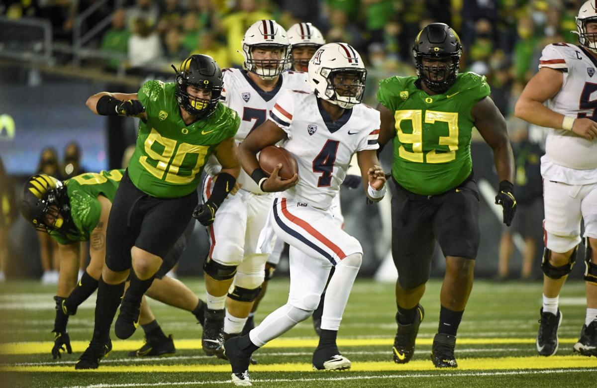 5 takeaways from the Arizona Wildcats' 41-19 loss to No. 3 Oregon | Arizona Wildcats football | tucson.com