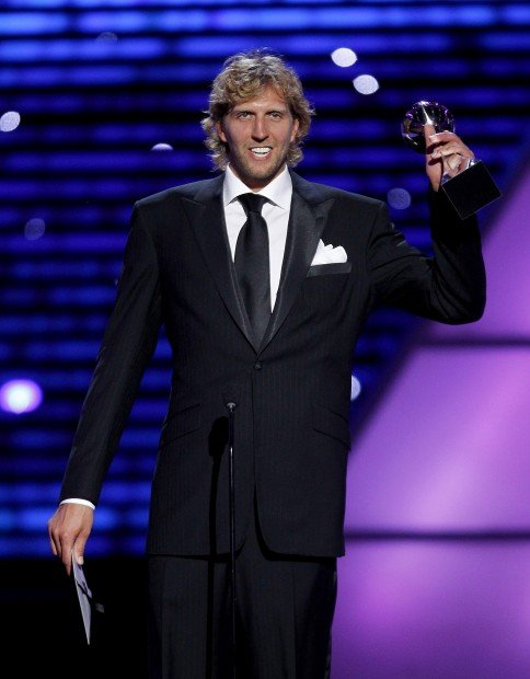 The ESPYs: Nowitzki, Mavs clean up at ESPN's annual awards show