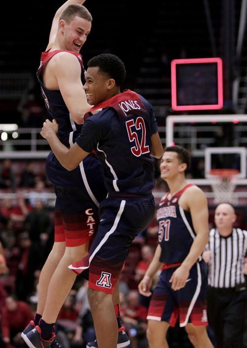 No. 18 Arizona Wildcats vs. Stanford Cardinal college basketball