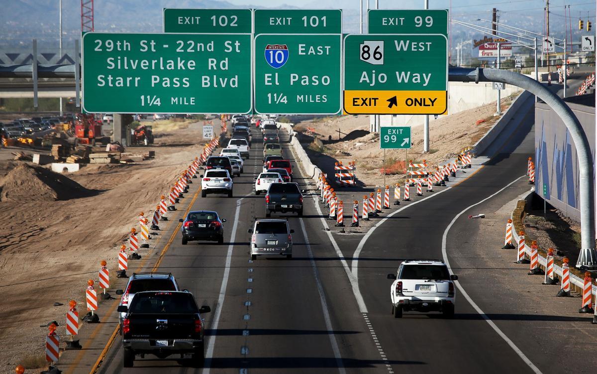 I-19 lane closure