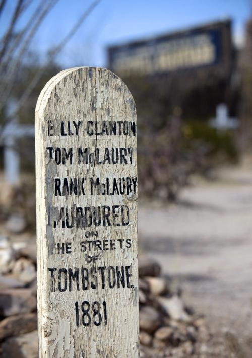 Tombstone to celebrate the film 'Tombstone' | Entertainment