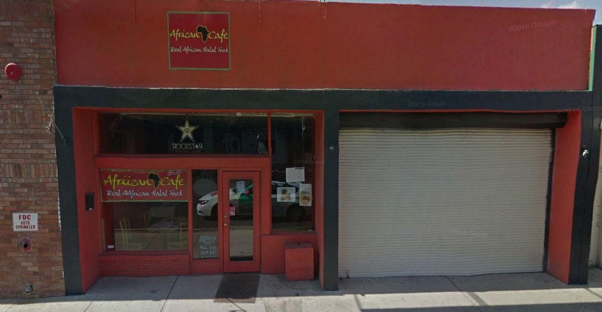 African Cafe Tucson Menu