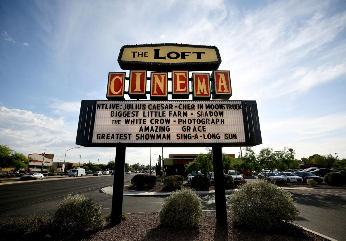 Loft Cinema marquee