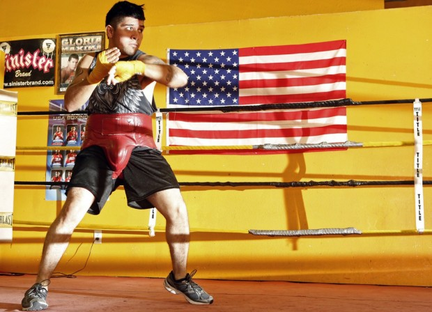 Josh Brodesky: For boxer, the big fight is just staying in US