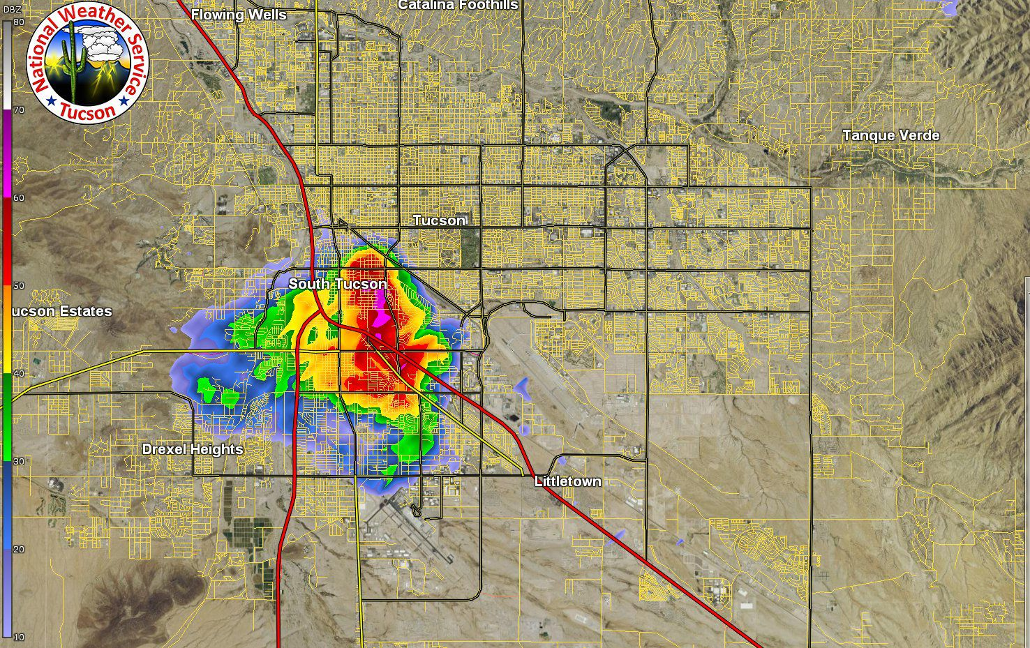 Monsoon storms have arrived to Tucson area | Tucson.com