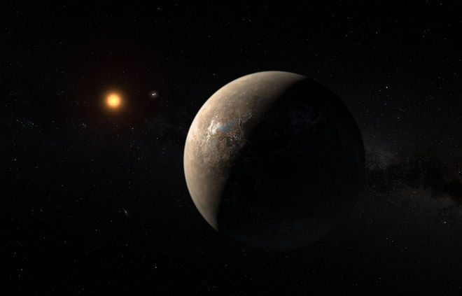 Proxima b: the closest potentially habitable planet