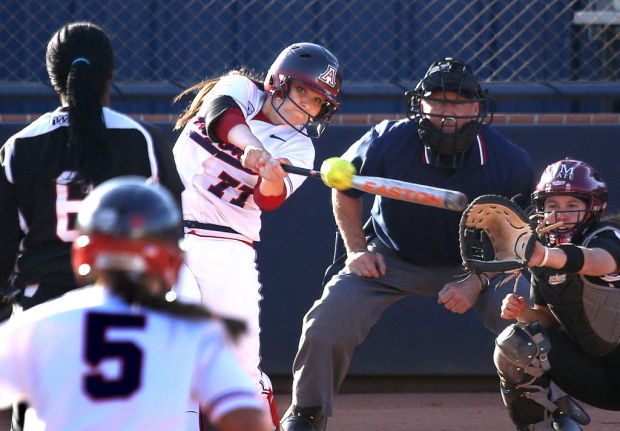 UA softball vs New Mexico State