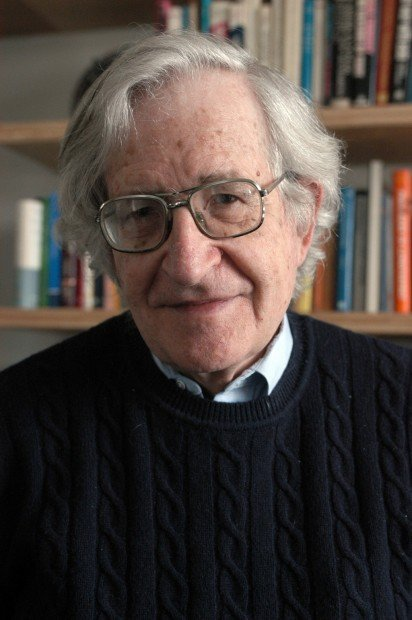 UA this week: lecture on education by Noam Chomsky