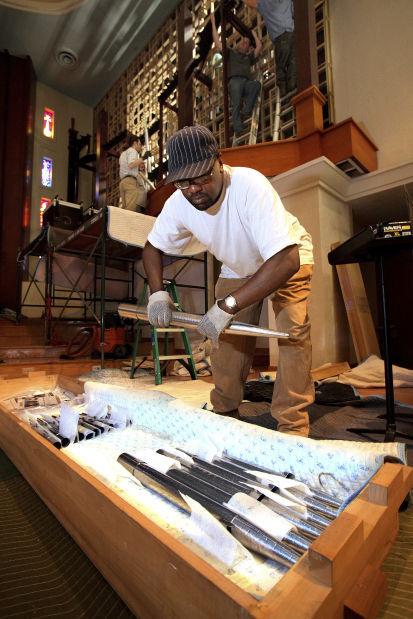 Pipe organ at Catalina United Methodist