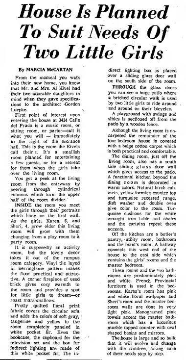 Tucson Citizen article Nov. 1, 1958