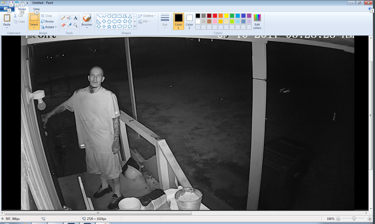 San Manuel burglary