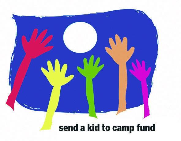 Send a kid to camp logo