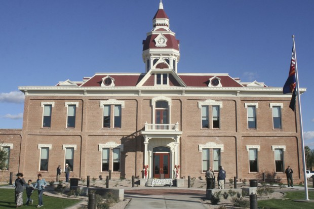 Historic courthouse in Pinal open again after $6M face-lift