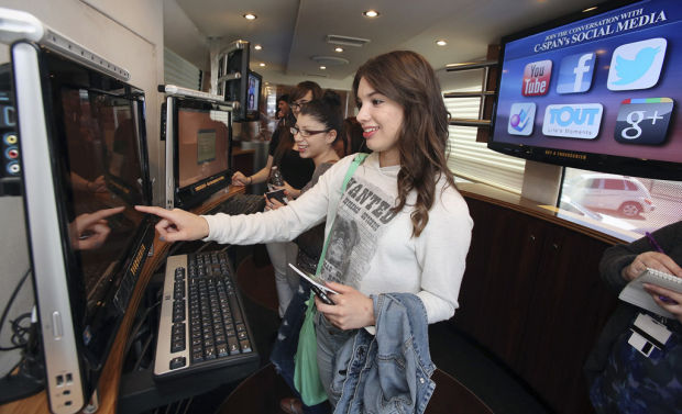 Teens learn how to tap C-SPAN resources