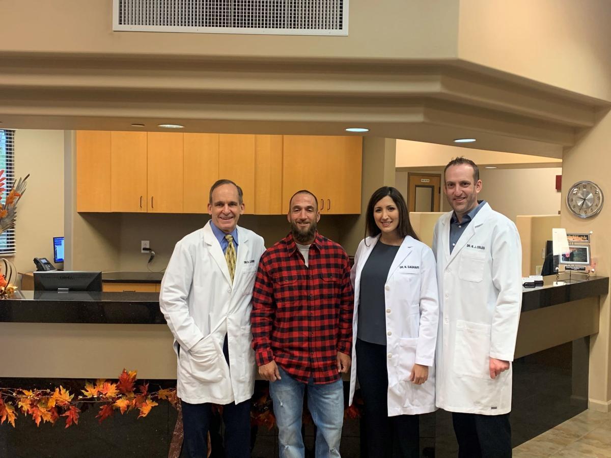 Arizona Oral & Maxillofacial Surgeons give a new smile to local hero