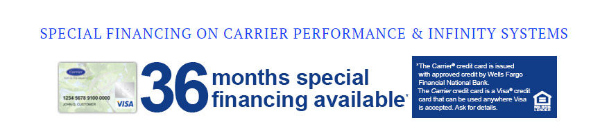 36 month special financing