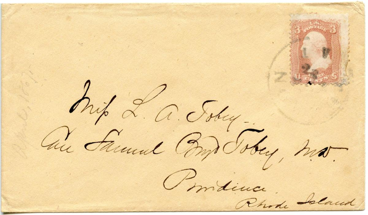 The Arizona Territory's oldest known envelope is now at Tucson's Postal History Museum