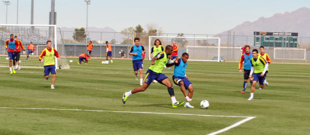 MLS in Tucson: Ex-Buena star Robles focused on job during homecoming