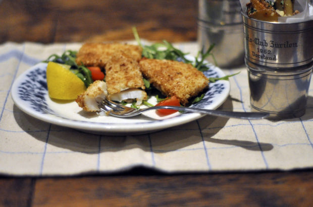 Simple fish for Lent
