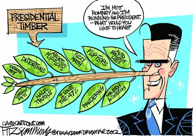 Daily Fitz Cartoon: Presidential