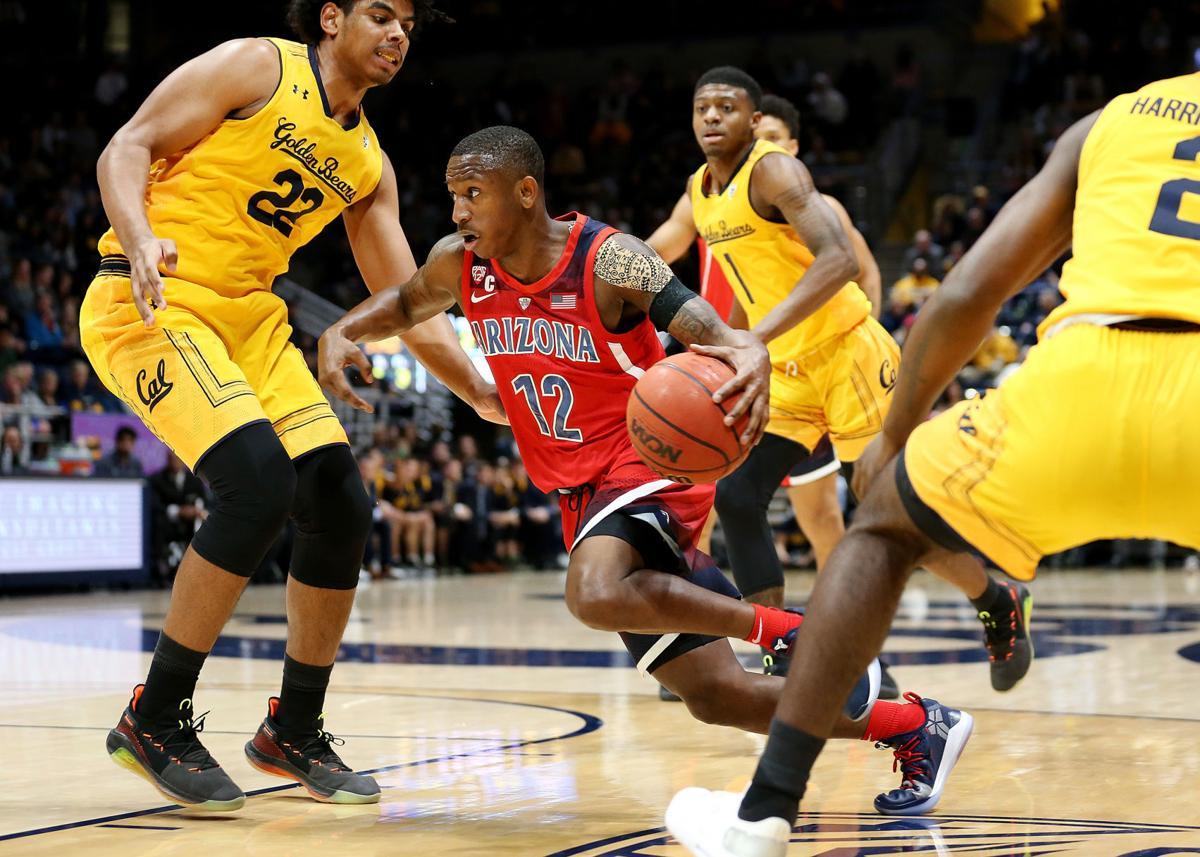 Arizona Wildcats vs. Cal Golden Bears men's college basketball
