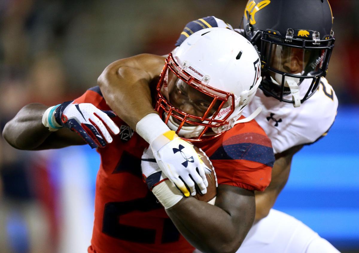 Arizona Wildcats 24, Cal Golden Bears 17