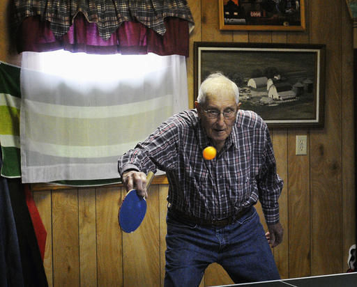 EXCHANGE: Table tennis is keeping Illinois retirees young