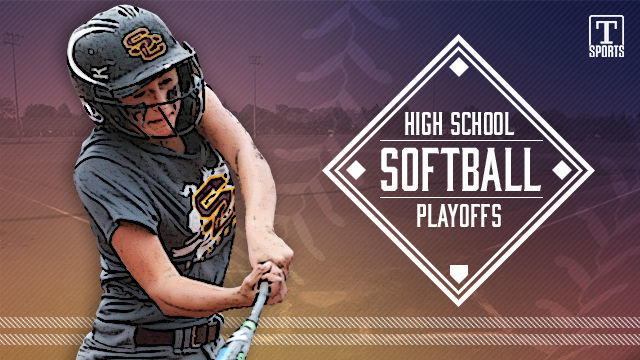 NEW high school softball playoffs logo