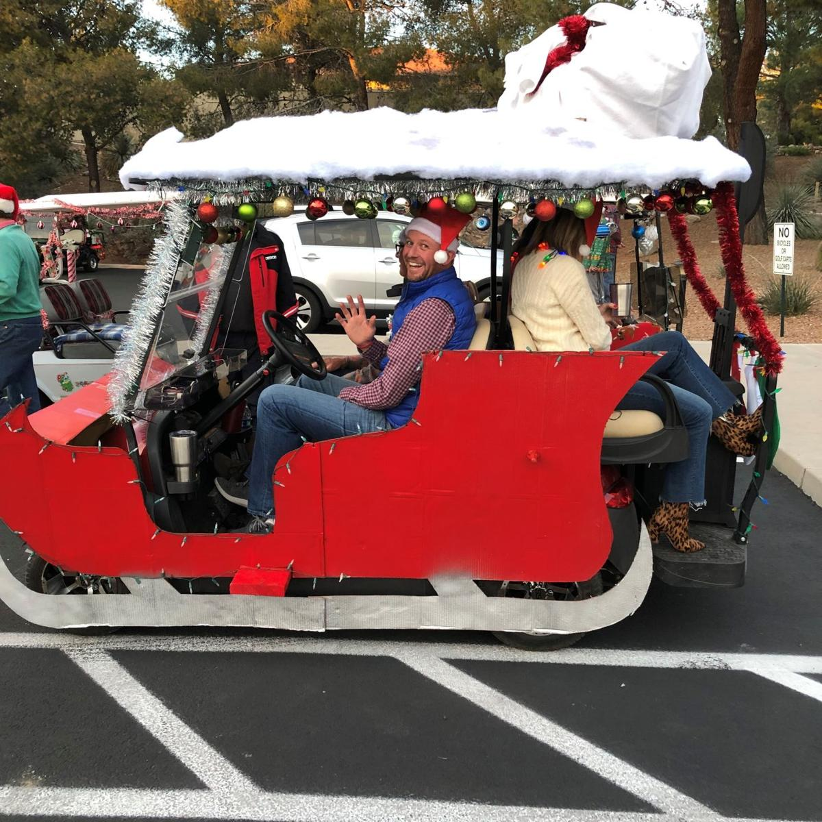 Mark Your Calendar For The Annual Gold Cart Parade Of Lights Saturday Dec 21 Community Tucson Com