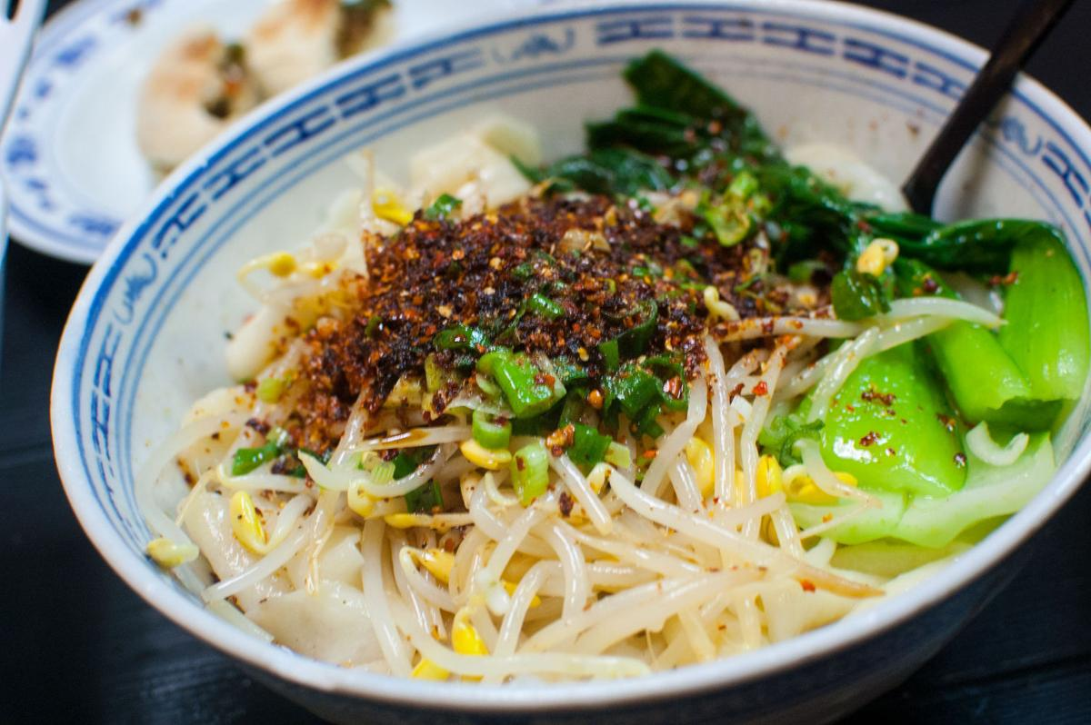Shaanxi-Style noodles