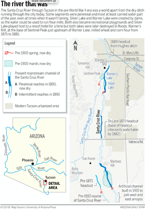 Starting today, a small section of Tucson's Santa Cruz River to flow again